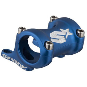 Spank Spike Attacco manubrio DM 25/30, Ø31.8mm, shotpeen blue